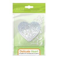 Tonic Studios - Rococo Delicate Heart Die