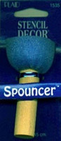 Plaid Spouncer Sponge Stencil Brush - Large 1-3/4""