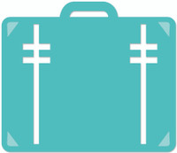 KaiserCraft Decorative Dies -  Suitcase