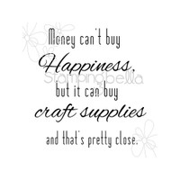 Stamping Bella - Money Can't Buy Happiness