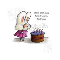 Stamping Bella - Make A Wish Hoppy Poppy