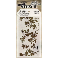 Tim Holtz Layered Stencil - Blossom