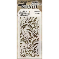 Tim Holtz Layered Stencil - Flourish