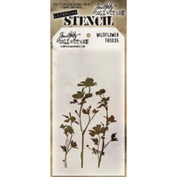 Tim Holtz Layered Stencil - Wildflower