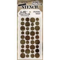 Tim Holtz Layered Stencil - Splotches