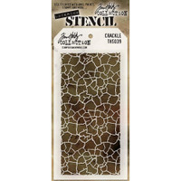 Tim Holtz Layered Stencil - Crackle