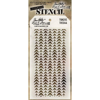 Tim Holtz Layered Stencil - Tracks