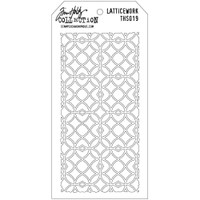 Tim Holtz Layered Stencil - Latticework
