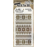 Tim Holtz Layered Stencil - Holiday Knit