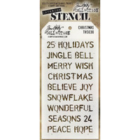 Tim Holtz Layered Stencil - Christmas