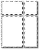 Memory Box Die - Postage Set