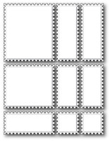 Memory Box Die - Postage Assemblage