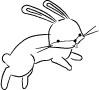 Memory Box Stamps - Oscar Bunny