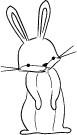 Memory Box Stamps - Nathaniel Bunny