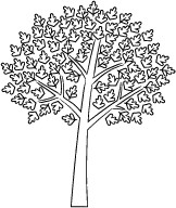 Memory Box Stamps - Oroville Tree