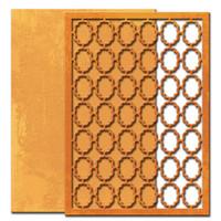 """Spellbinders Nestabilities 5""""X7"""" Card Creator Dies - Grate Effect"""