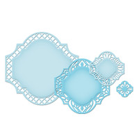 Spellbinders Nestabilities Dies - Labels 41 Decorative Elements