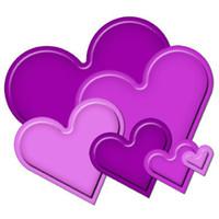 Spellbinders Nestabilities Dies - Classic Hearts