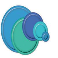 Spellbinders Nestabilities Dies - Classic Ovals Small