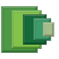 Spellbinders Nestabilities Dies - Classic Rectangles Large