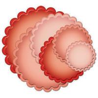 Spellbinders Nestabilities Dies - Classic Scallop Circle Large