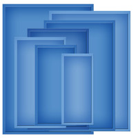"Spellbinders Nestabilities 5""X7"" Card Creator Dies - Matting Basics B"