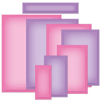 Spellbinders Nestabilities A2 Card Creator Dies - Matting Basics A