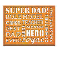Spellbinders Nestabilities A2 Card Creator Dies - Awesome Dad