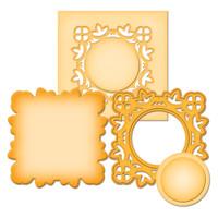 Spellbinders D-Lites Die  - Medallion 2
