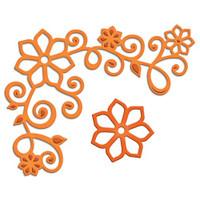 Spellbinders D-Lites Die  - Floral Corner One