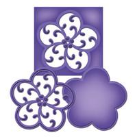 Spellbinders D-Lites Die  - Medallion 9