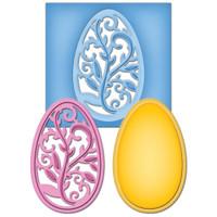 Spellbinders D-Lites Die  - Filigree Egg