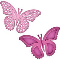 Spellbinders D-Lites Die  - Flutters