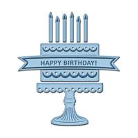 Spellbinders D-Lites Die  - Birthday Cake