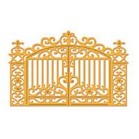 Spellbinders D-Lites Die  - Gilded Gate 2