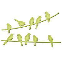 Spellbinders In'spire Dies - Bird On A Wire