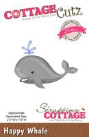CottageCutz Elites Die -  Happy Whale