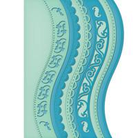 Spellbinders Card Creator Dies - A2 Curved Borders 1