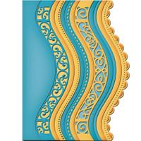 Spellbinders Card Creator Dies - Curved Borders 2