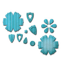 Spellbinders Designer Dies - Craft Flower 6 By Scrappy Cat