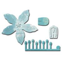 Spellbinders Designer Dies - Crafty Flower 1 By Scrappy Cat