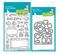 Lawn Fawn Stamps & Dies Bundle - Fintastic Friends