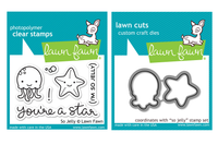 Lawn Fawn Stamps & Dies Bundle - So Jelly