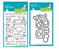Lawn Fawn Stamps & Dies Bundle - Love 'n Breakfast