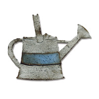 Sizzix Bigz Die - Watering Can by Tim Holtz