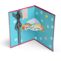 Sizzix Framelits Die Set 28PK - Card w/Banners Drop-ins by Stephanie Barnard