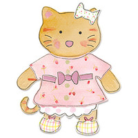 Sizzix Bigz Die - Animal Dress Ups Kitty by Dena Designs