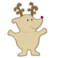Sizzix Bigz Die - Animal Dress Ups Reindeer by Dena Designs
