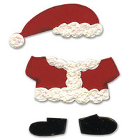 Sizzix Bigz Die - Animal Dress Ups Santa Outfit by Dena Designs
