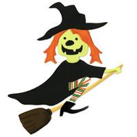 Sizzix Bigz Die - Witch w/ Broom by Brenda Pinnick